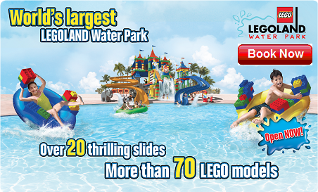 Combo Legoland + Waterpark Ticket