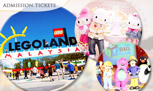 Legoland + Hello kitty  + Little big club Open Ticket